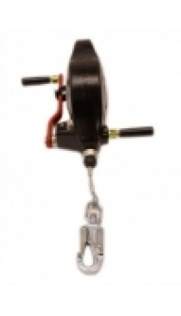 15m Wire Fall Arrest & Rescue Block with Stabilising Handle