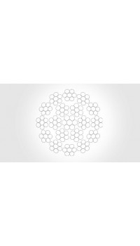 18x7 - steel core, galvanized, non-rotating