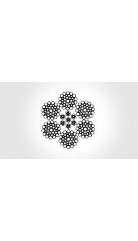 6x36 WS - steel core, galvanized