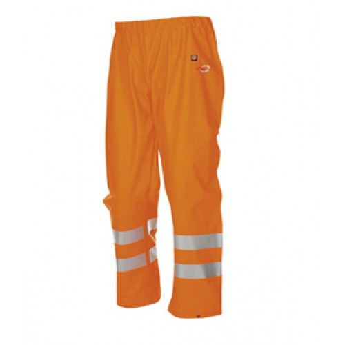 Hi-vis rain trousers Orange