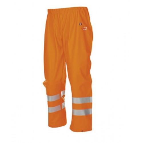 Hi-vis rain trousers Orange