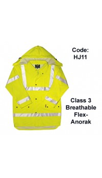 PROFORCE Hi Viz Breathable Flex-Anorak
