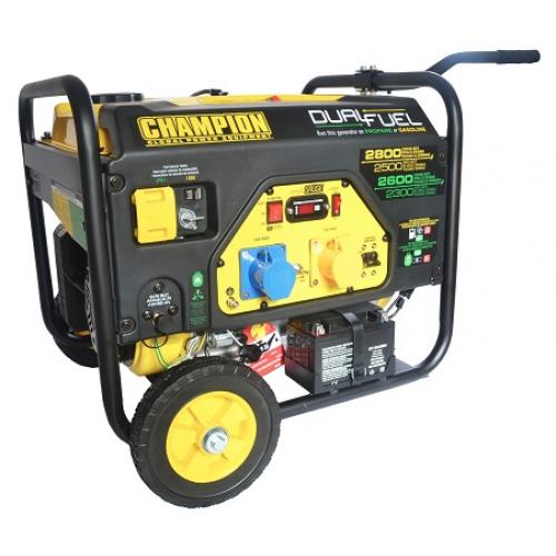Champion 2800 watt Dual Generator with Electric Start
