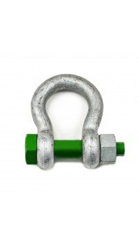 Green Safety Pin Bow Shackles