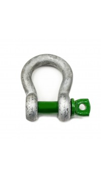 Green Screw Pin Bow Shackles