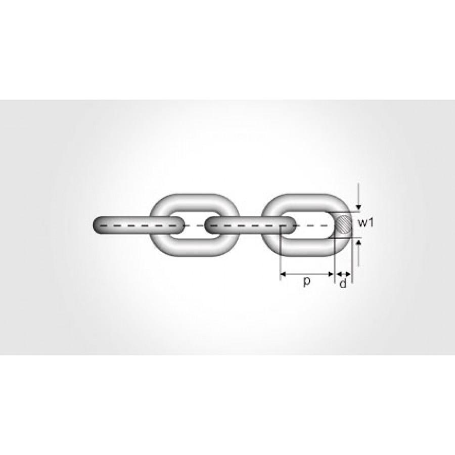 Short Link Chain KLFZ Grade &