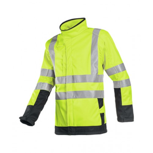Hi-vis softshell with ARC Protection