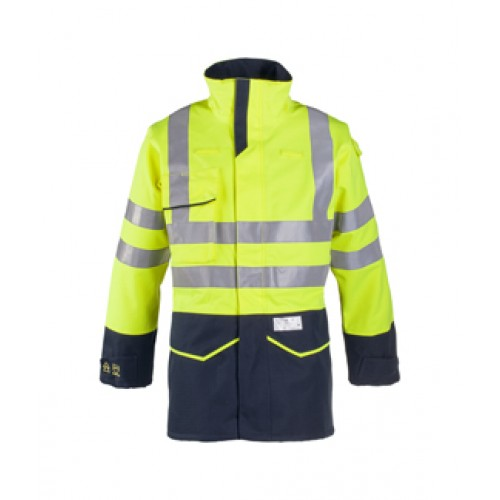 Riverton Hi-Vis Rain Jacket with ARC Protection
