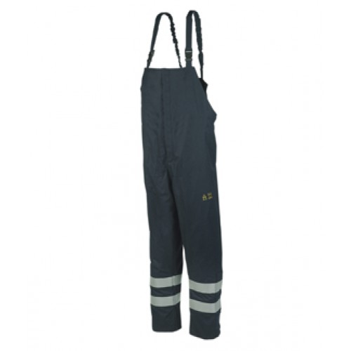 Rain Bib and Brace Trousers with ARC Protection