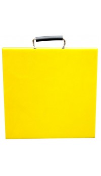 Outrigger Pad Hi-Viz 400 x 400 x 40