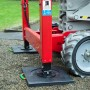 Outrigger Pad Ecolift 500 x 500 x 40 with Recess