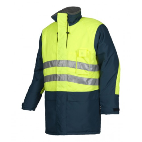 HI-Vis cold storage jacket