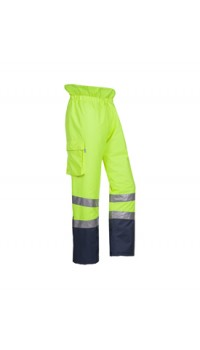 Hi-vis winter rain trousers