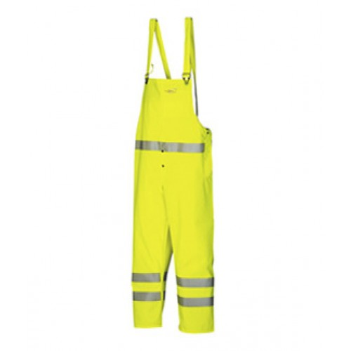 Hi-vis bib and brace trousers Yellow