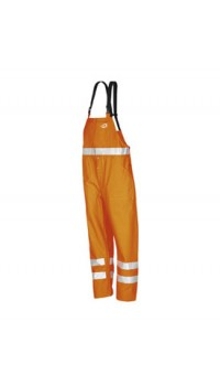 AOBA Hi-vis bib and brace trousers Orange
