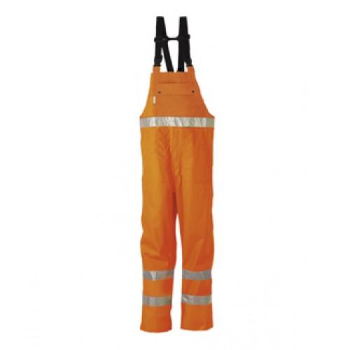 HI-VIS bib and braces trousers Orange