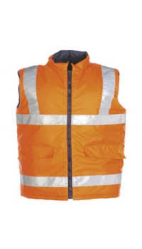 Hi-vis bodywarmer Orange