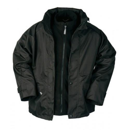 3 in 1 Rain Jacket with detachable Fleece Jacket