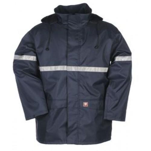 Flame Retardant Anti-Static Rain Jacket