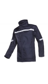 Flame Retardant Anti-Static Softshell with Detachable Sleeves