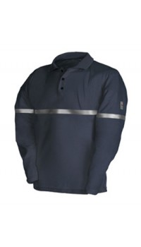 Flame Retardant Anti-Static Polo Shirt
