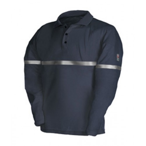 Flame Retardant Anti-Static Polo Shirt