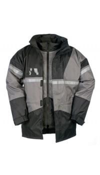 Rain Jacket with Detachable Bodywarmer
