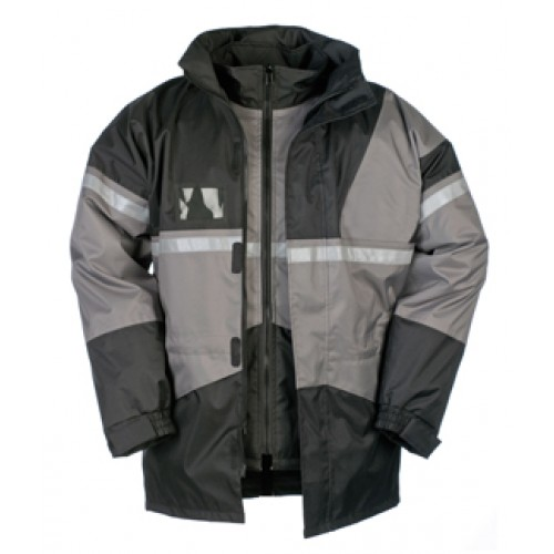 Rain Jacket with Detachable Bodywarmer