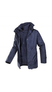 3 in 1 Winter Jacket with detachable Fleece Jacket