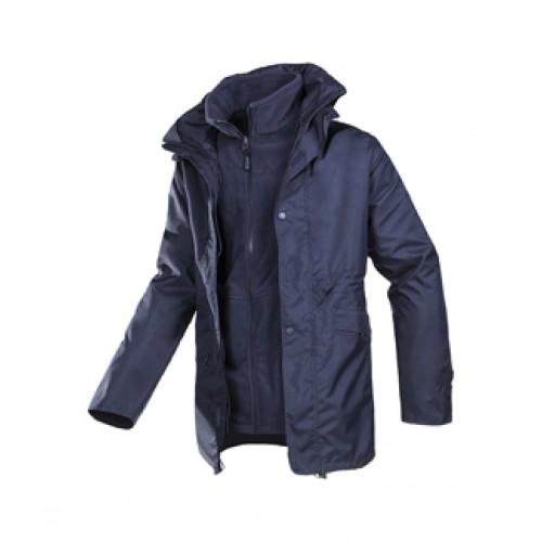 3 in 1 Winter Jacket with detachable Fleece Jacket