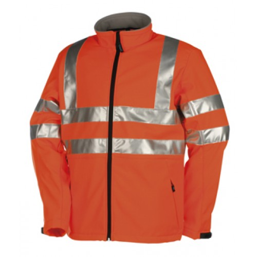 Hi-vis softshell jacket (2-layer) Genova