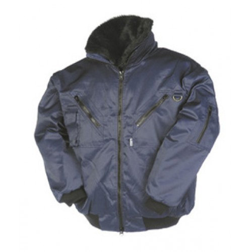 Winter Bomber Jacket with Detachable Sleeves- Hawk