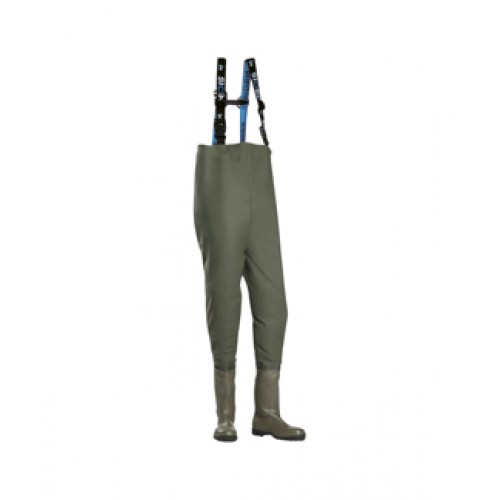 Chest Wader with Safety Boots