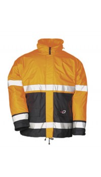 Hi-vis Winter rain jacket Pinatubo