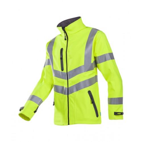Hi-vis softshell jacket (2-layer)
