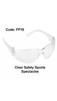 PROFORCE Clear Safety Sports Spectacles