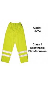 PROFORCE Hi Viz Breathable Flex-Trousers