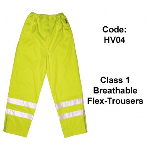 PROFORCE Hi Viz Breathable Flex-Trousers