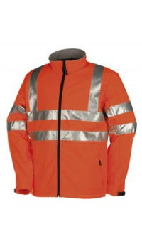 Hi- Viz Softshell Jacket (2 layers) Genova