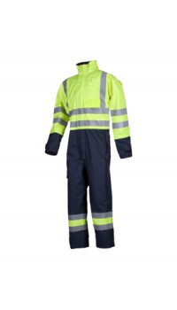 Flame Retardant Anti-Static Hi-Vis Coverall