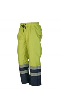 Flame Retardant Anti-Static Hi-Vis Rain Trouser