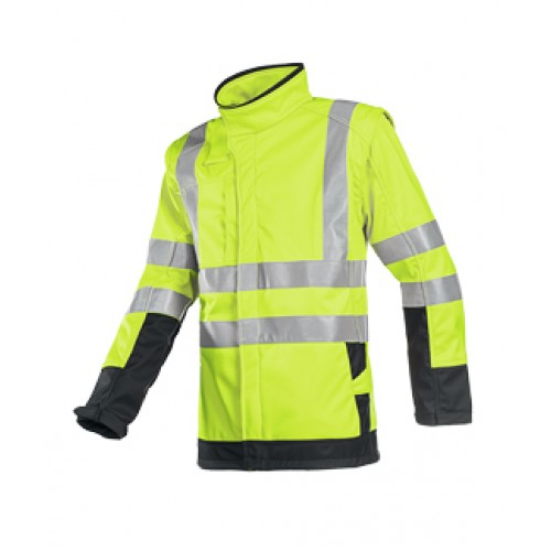 Softshell Flame Retardant Jacket  with Detachable sleeves