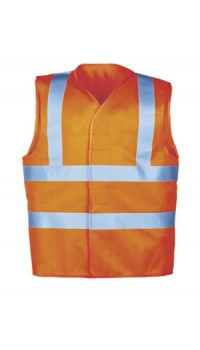 Hi-Vis Waistcoat Orange - Lacona
