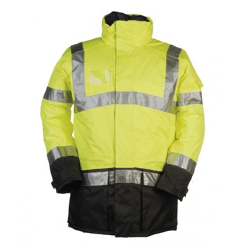 Hi-Viz Winter  Rain Jacket 1
