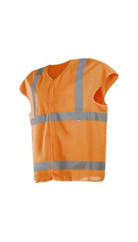 Hi-Vis Waistcoat cap Sleeves - Loxton