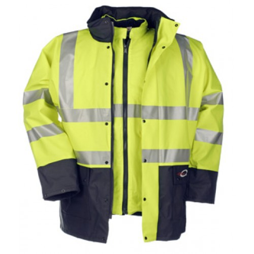 Marianis winter rain jacket with detachable Bodywarmer