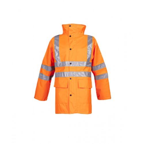 Hi-Viz Rain Jacket Monoco