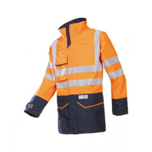 Orrington Hi-Vis rain Jacket with ARC Protection