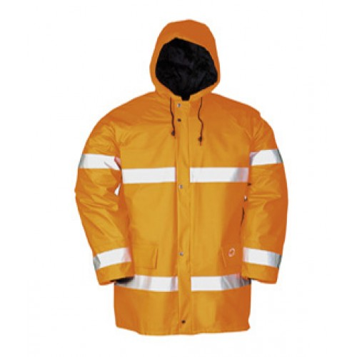 Parker Hi-Vis Winter Rain Jacket