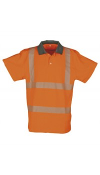 Hi-Vis Polo Shirt Sio- Cool